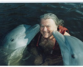 Mark Harris: a man who wanted to be a dolphin