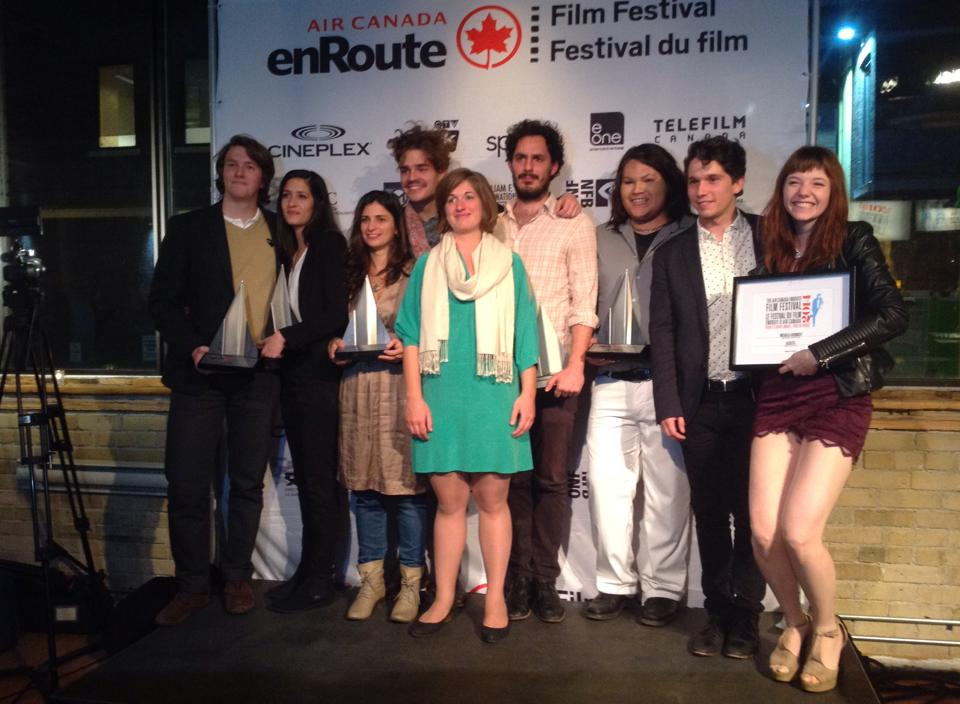 Congratulations to the winners of the 8th annual Air Canada enRoute Film Festival!