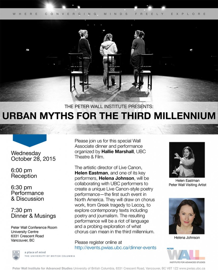 Poster: Urban Myths for the Third Millennium