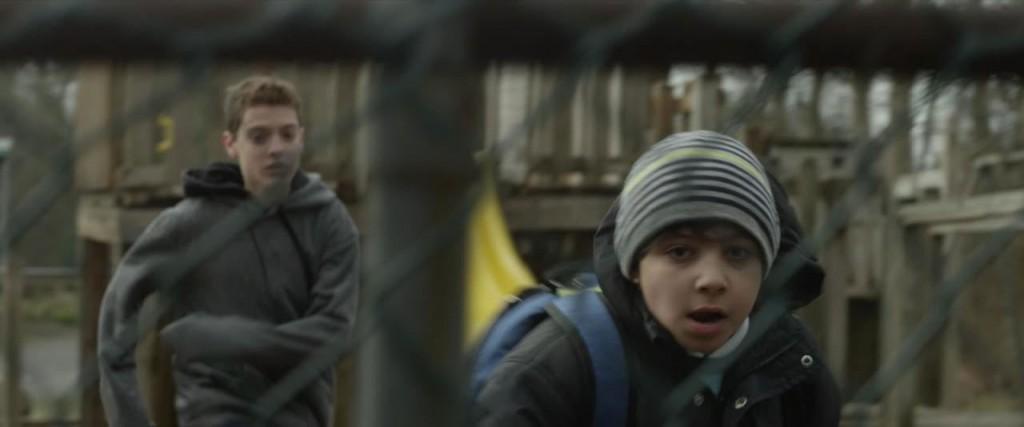 Still from the film TERRORIST