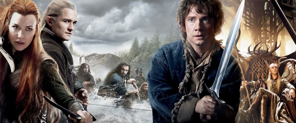 """""""The Hobbit - The Desolation of Smaug"""" poster"""
