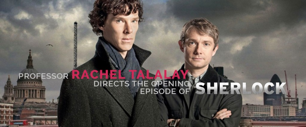 "GUESS WHICH THEATRE & FILM FACULTY MEMBER WILL BE DIRECTING ""SHERLOCK""? STAY TUNED..."