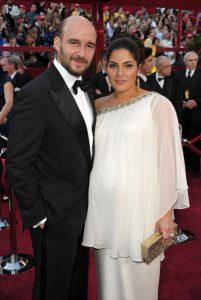 Photo: Daniel Dubiecki and Lara Alameddine at the 82nd Annual Academy Awards