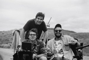 L-R: Joaquin Cardoner (Director of Photography), Ricardo Carneiro (Producer), Chris Lorenz (Writer/Director). Photo credit: FIPR alumni Farhad Ghaderi