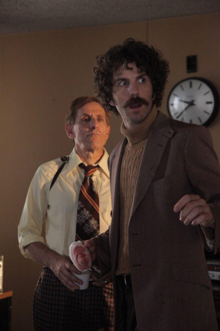 "MFA Filmmaker alum Matthew Kennedy's Film ""The Editor"" featuring Matthew Kennedy and Jerry Wasserman."